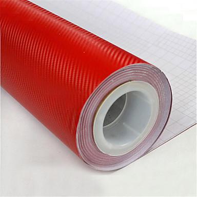 lorcoo ™ φιλμ βινυλίου ινών άνθρακα 3d τυλίξει 12 «x60» φύλλο (δώρο άκρο ελαστικό μάκτρο)