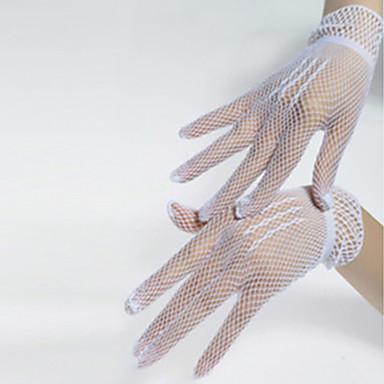 Danse tilbehør Dansehandske Dame Ydeevne Nylon / Spandex Krydsdrapering Handsker / Opvisning