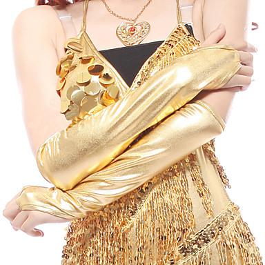 Tanz Accessoires Tanz-Handschuhe Damen Leistung Elasthan Drapiert Halbe Ärmel Handschuhe