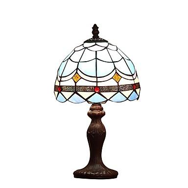 40W Tiffany Luzes de Mesa , Característica para Proteção de Olhos , com Pintura Usar Interruptor On/Off Interruptor