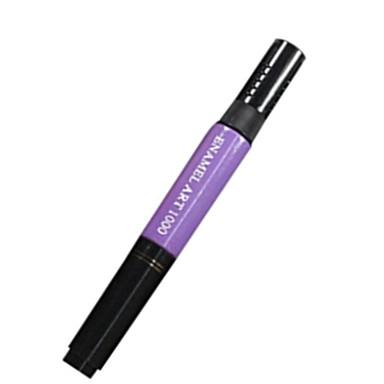 1pcs voor tweeërlei gebruik nail art pen voor het tekenen verf puntjes no.1-11 (verschillende kleuren)