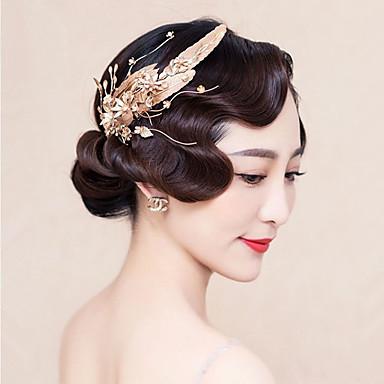 Damen Legierung Stoff Kopfschmuck-Hochzeit Besondere Anlässe Haarclip 1 Stück