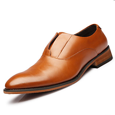 Men's Shoes Office & Career / Party & Evening / Casual Leather Loafers Black / Brown