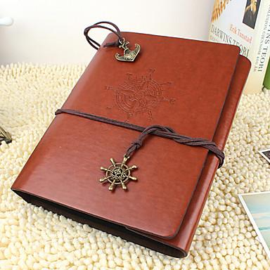 diy 18 * 22 cm-es bőr borítású kézzel készített fényképalbumban 30db fekete papírt család / gyermek / szerelmesek / ajándékok piros / kávé
