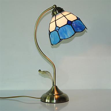 Tiffany / Traditionel / Klassisk / Original Øyebeskyttelse Skrivebordslampe Til Metall 110-120V / 220-240V