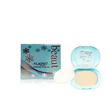 Ensfarvet Pudder Tør Længerevarende / Ujævn hud / Naturlig Ansigt Kina Makeup Kosmetiske