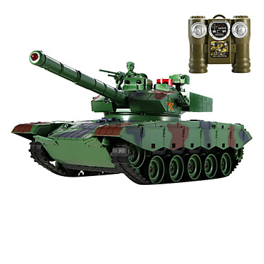 controle do carro modelo de tanque remoto, carro de brinquedo de controle remoto, o metal contra os tanques (l) - da china 99 tipo de