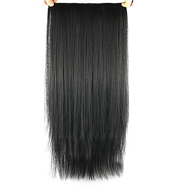 természetes hullám fekete emberi haj sző 2