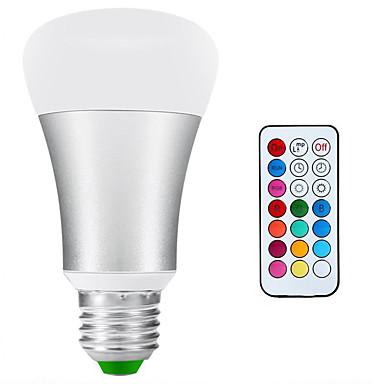 900-1200 lm E26/E27 LED Kugelbirnen A80 1 Leds COB Abblendbar Wasserfest Dekorativ Natürliches Weiß RGB Wechselstrom 85-265V