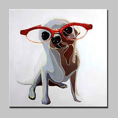 Håndmalte Dyr Moderne,Et Panel Hang malte oljemaleri