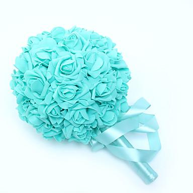 Fleurs de mariage Bouquets Mariage Satin Mousse 23cm
