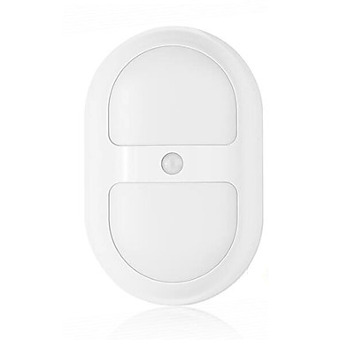1 W לבן חמים / לבן קר סוללה חיישן מנורת לילה 5V V פלסטיק