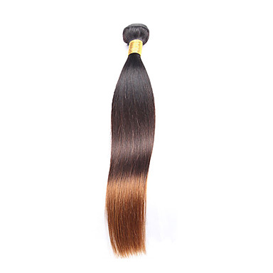 1 Piece Straight Human Hair Weaves Peruvian Texture 100 12-26 Human Hair Extensions