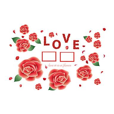 Desenho Animado / Palavras e Citações / Romance / Vida Imóvel / Moda / Floral / Feriado / Paisagem / Formas / Fantasia Wall Stickers