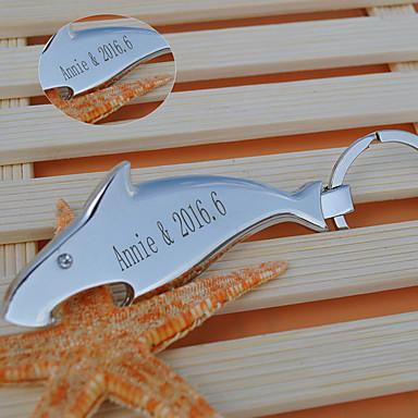 Favores Llavero Acero inoxidable Pedazo / Set