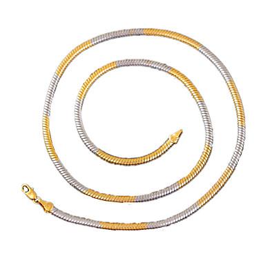 Modische Halsketten Ketten Schmuck Hochzeit / Party / Alltag / Normal / Sport Aleación / versilbert / vergoldet Goldfarben 1 Stück