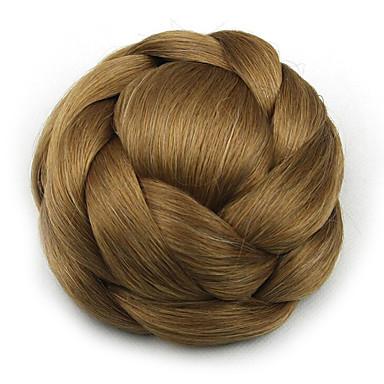 Kinky ouro encaracolado europa noiva cabelo humano sem tampa perucas chignons SP-161 2005