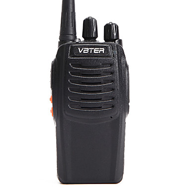 VBT-V3 מכשיר קשר (ווקי טוקי) לכף היד אזהרה לסוללה חלשה אזעקת חרום הנחיה קולית קוֹל שעון עצר לפסק זמן CTCSS / CDCSS 3KM-5KM 3KM-5KM 16
