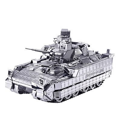 voordelige 3D-puzzels-3D-puzzels Legpuzzel Metalen puzzels Tank Strijdwagen Plezier Klassiek Speeltjes Geschenk