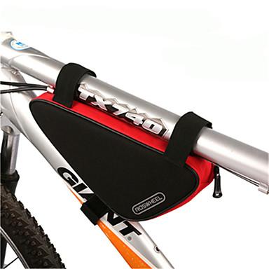 ROSWHEEL Fahrradtasche 1.5L Fahrradrahmentasche Feuchtigkeitsundurchlässig Wasserdichter Reißverschluß tragbar Stoßfest Tasche für das Rad