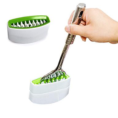 Küchenhelfer Kochutensilien Besteck Reiniger Messer, Gabel, Löffel Bürste reinigen Werkzeug (zufällige Farben)