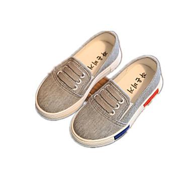 Unisex-Loafers & Slip-Ons-Lässig-StoffKomfort-Schwarz / Weiß / Grau
