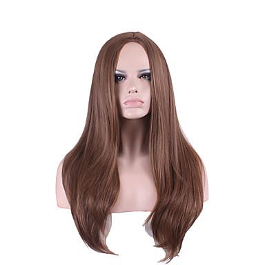 女性 人工毛ウィッグ ストレート ベージュ オンブレヘア ナチュラルウィッグ コスチュームウィッグ
