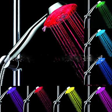 LED Duschkopf Beleuchtung Wasser Wasserfest ABS