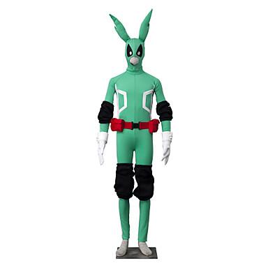 Inspireret af Min Hero Academy Battle For All / boku ingen Hero Academia Midoriya Izuku Anime Cosplay Kostumer Cosplay Kostumer Ensfarvet