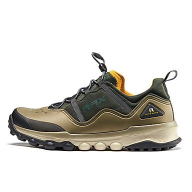 Sapatos de Montanhismo Homens Vestível Ao ar Livre Malha Respirável Equitação Laranja Verde