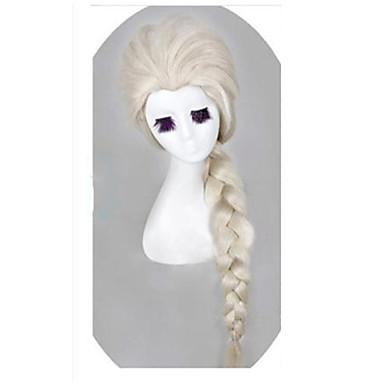 Sentetik Saç peruk Dalgalı Bonesiz Karnaval Peruk Cadılar Bayramı Peruk Uzun