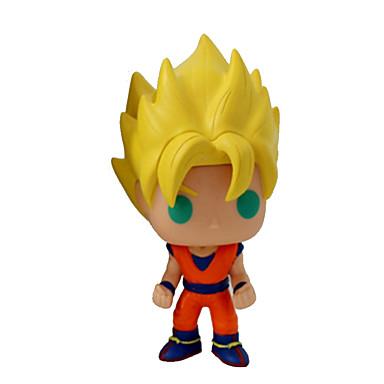 Anime Toimintahahmot Innoittamana Dragon Ball Son Goku CM Malli lelut Doll Toy Miesten