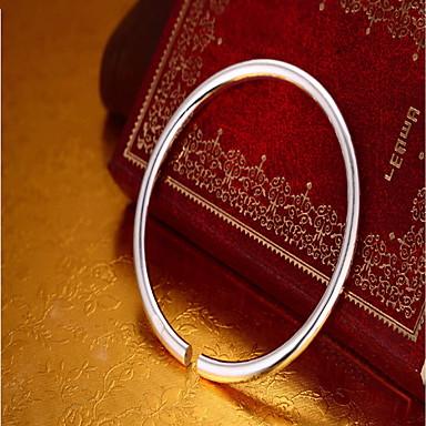 billige Motearmbånd-Dame Mansjettarmbånd Mote Sølv Armbånd Smykker Sølv Til