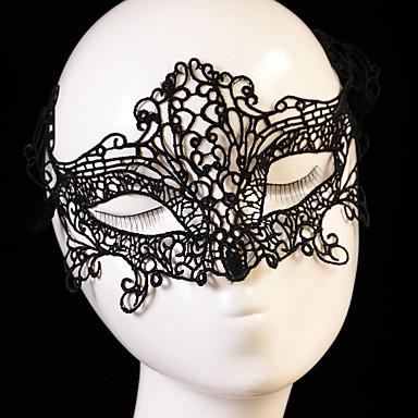 Maski na Halloween / Rekwizyty na Halloween / Akcesoria na Halloween Motyw Garden / Nowość / Święto Typ queen / Kowbojka Dla dorosłych Prezent 1 pcs