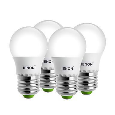 E26/E27 LED Kugelbirnen G45 6 SMD 240-270 lm Warmes Weiß Kühles Weiß Dekorativ AC 100-240 V 4 Stück