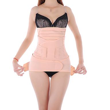 Abdómen Cintura Suporta Manual Shiatsu Relaxe abominal pós-parto Portátil Algodão