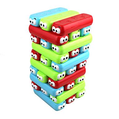 משחקי לוח משחקי מגדלים מגדל ערימה רועד בלוק עץ צעצועים איזון צבעוני ריבוע בוץ מגנטי קלסי עיצוב חדש 30 חתיכות בנות בנים יום הולדת יום הילד