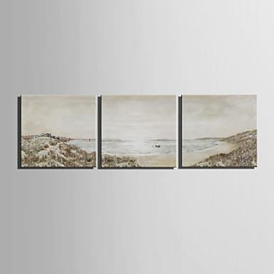 Druck Landschaft Europäischer Stil Drei Paneele