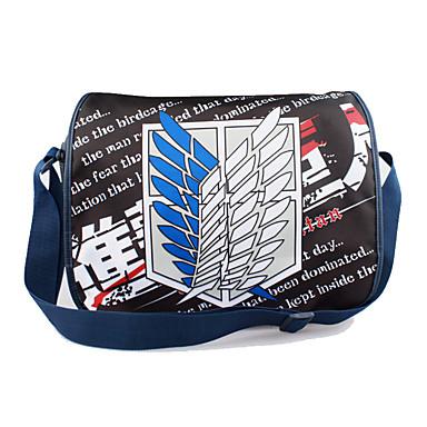 Tasche Inspiriert von Attack on Titan Cosplay Anime Cosplay Accessoires Tasche Rucksack Nylon Herrn Damen
