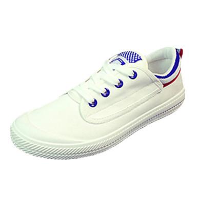 Sko-PU-Flat hæl-Komfort-Trendy sneakers-Sport-Svart / Blå / Grønn