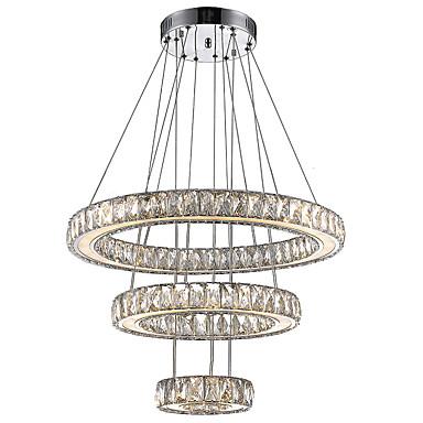 נברשות Ambient Light - קריסטל LED, מודרני / עכשווי, 110-120V 220-240V, לבן חם לבן קר, נורה כלולה