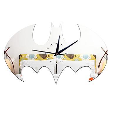 Rund Moderne / Nutidig / Avslappet / Kontor / Bedrift Wall Clock,Ferie / Huse / Inspirerende / Bryllup / Familie / Skole/Studentereksamen