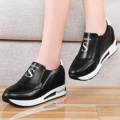 Femme Plateau 05119633 Chaussures Printemps Blanc Scotch Magique Noir Synthétique Automne Basket Creepers 66qr1xn