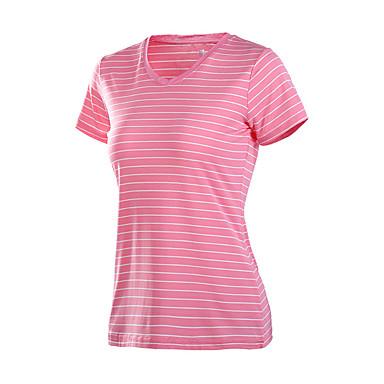 Mulheres Corrida Camiseta Secagem Rápida Redutor de Suor Moda Esportiva Corrida