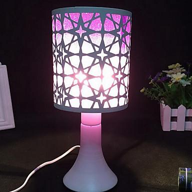 eu ligar lâmpadas aroma tocar ferro sensor de candeeiro de mesa decorativo