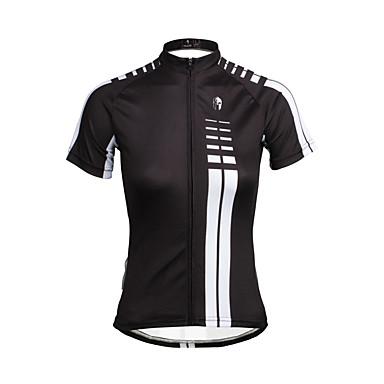 ILPALADINO חולצת ג'רסי לרכיבה בגדי ריקוד נשים שרוולים קצרים אופניים ג'רזי צמרות בגדי רכיבת אופניים ייבוש מהיר עמיד אולטרה סגול נושם רך
