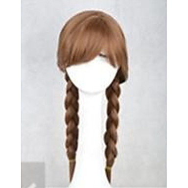 Perücken / Synthetische Perücken Wellen Damen Kappenlos Karnevalsperücke / Halloween Perücke Lang Synthetische Haare