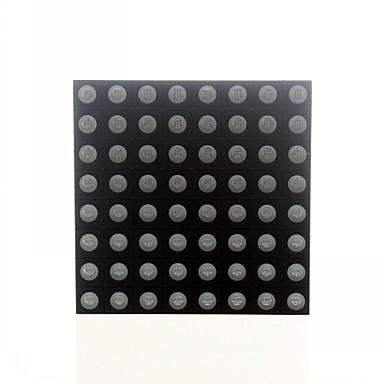 8x8 RGB LED fuld farve dot display 60x60mm fælles anode til Arduino