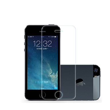 Displayschutzfolie für Apple iPhone 6s Plus / iPhone 6 Plus / iPhone SE / 5s Hartglas 1 Stück High Definition (HD) / 9H Härtegrad / 2.5D abgerundete Ecken