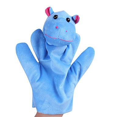 voordelige Marionetten-Dinosaurus Vingerpoppetjes Poppen Handpop Schattig Dieren Noviteit tekstiili Pluche Meisjes Speeltjes Geschenk / Groot formaat
